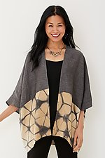 Aster Shibori Jacket by Laura Hunter (Woven Jacket)