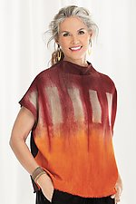 Vesta Shibori Top by Laura Hunter (Knit Top)