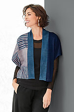 Strata Shibori Vest by Laura Hunter (Shibori Vest)