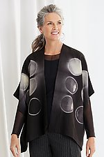 Token Shibori Jacket by Laura Hunter (Woven Jacket)