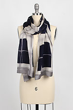Squares Scarf by Laura Hunter (Silk Scarf)