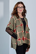 Octagon Shibori Jacket by Laura Hunter (Shibori Jacket)