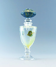 Luminescent Urn by Chris Pantos (Art Glass Perfume Bottle)