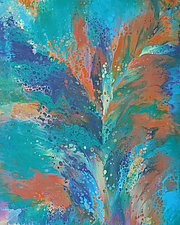 Moment of Impact by Cassandra Tondro (Acrylic Painting)