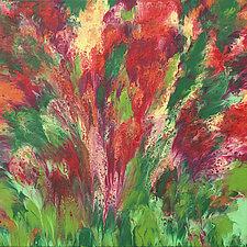 Meadow Lace by Cassandra Tondro (Acrylic Painting)