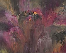 Emerging Flora by Cassandra Tondro (Acrylic Painting)