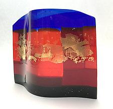 Sunlit by Sabine  Snykers (Art Glass Sculpture)