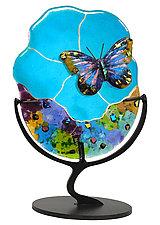 Butterfly by Karen Ehart (Art Glass Sculpture)