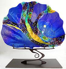 Giant Shell Sculpture by Karen Ehart (Art Glass Sculpture)