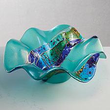 Splash Bowl by Karen Ehart (Art Glass Bowl)