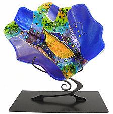 Small Shell Sculpture by Karen Ehart (Art Glass Sculpture)