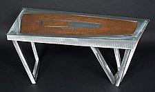 Contrasting Geometry by Jeffrey Brown (Metal Coffee Table)