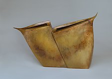 Spurred Wings by Jeffrey Brown (Bronze Vessel)