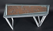 Deconstruction by Jeffrey Brown (Metal Coffee Table)