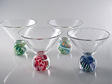 Marbletini by Michael Egan (Art Glass Drinkware)