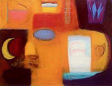 New Language by Heidi Daub (Acrylic Painting)