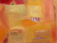 My Sweet Town by Heidi Daub (Acrylic Painting)