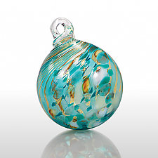 Across the Universe by Loretta Eby (Art Glass Ornament)