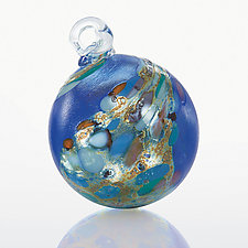 Orion's Belt by Loretta Eby (Art Glass Ornament)