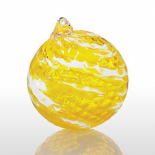 Good Day Sunshine by Angelo Fico (Art Glass Ornament)