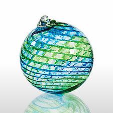 Kentucky Bluegrass by Angelo Fico (Art Glass Ornament)