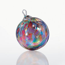 Copacabana by Glass Eye Studio (Art Glass Ornament)