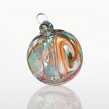Aquarius by Glass Eye Studio (Art Glass Ornament)