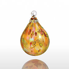 Alpenglow by Glass Eye Studio (Art Glass Ornament)