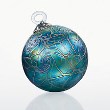 Seventh Heaven by Bryce Dimitruk (Art Glass Ornament)
