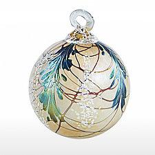Evergreen Heirloom by Bryce Dimitruk (Art Glass Ornament)