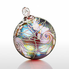 Moonlit Waltz by Bryce Dimitruk (Art Glass Ornament)