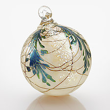 Evergreen Heirloom by Bryce Dimitruk (Art Glass Ornament)