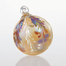 Auld Lang Syne by Bryce Dimitruk (Art Glass Ornament)