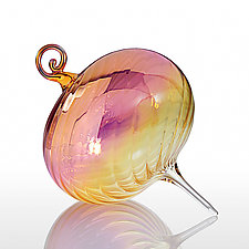 On the Horizon by R. Jason Howard (Art Glass Ornament)