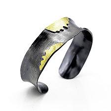 Solis Cuff by Lori Gottlieb (Gold & Silver Bracelet)