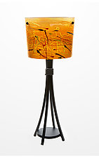 Eiffel Table Lamp by Joel and Candace  Bless (Art Glass Table Lamp)