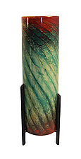 Woodlands Tricil Lamp by Joel and Candace  Bless (Art Glass Table Lamp)