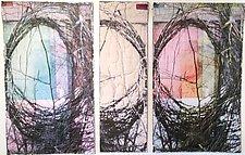 Mind Wanderings by Wen Redmond (Fiber Wall Hanging)