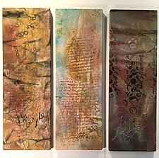 Three Notes to a Friend by Wen Redmond (Fiber Wall Hanging)