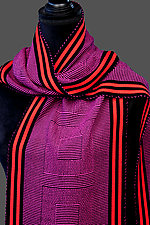 Square Squared by Pamela Whitlock (Bamboo Scarf)