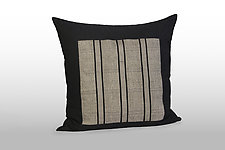 Freeway Variation by Pamela Whitlock (Bamboo and Flannel Pillow)