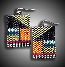 Klee Earrings by Julie Powell (Beaded Earrings)