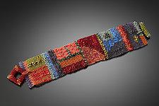 Diebenkorn Cuff by Julie Powell (Beaded Bracelet)