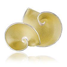 Light Jam Earrings by Aleksandra Vali (Gold & Silver Earrings)