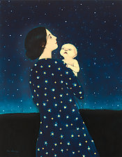 Young Astronomer by Brian Kershisnik (Giclee Print)