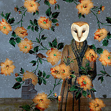 SavvyOwl by Patricia Barry Levy (Giclee Print)