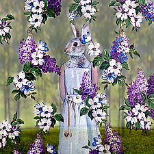 SavvyRabbit by Patricia Barry Levy (Giclee Print)