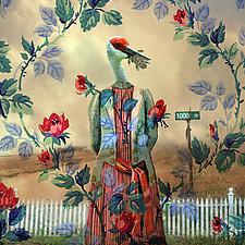 SavvyCrane by Patricia Barry Levy (Giclee Print)