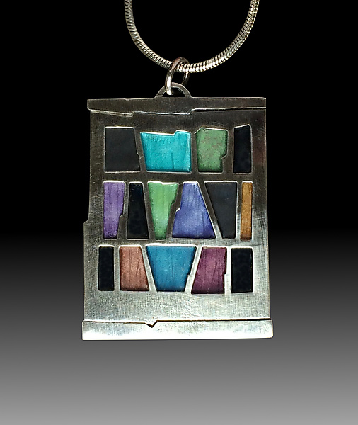 Bookshelf Pendant No.494