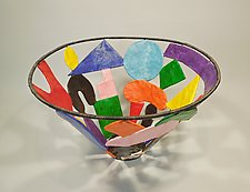 Geometrix Basket by Sally Prangley (Wire & Paper Basket)